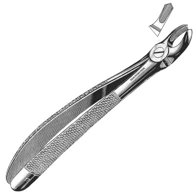 Extracting Forceps English Pattern, Fig. 17