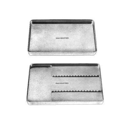 Complete Instruments Tray with Solid Base