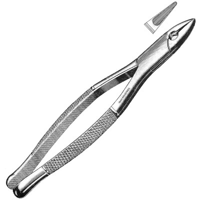 Tooth Extracting Forceps American Pattern fig. 1