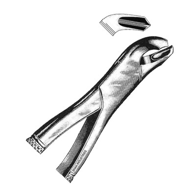Tooth Extracting Forceps American Pattern fig.17